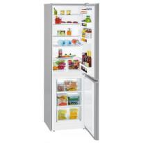 Liebherr CUef 3331 kombinovaná chladnička, nerez, A++