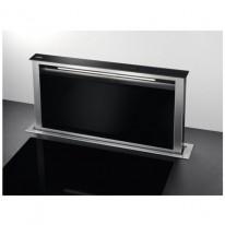 AEG Mastery DDE5960B odsavač výsuvný z pracovní desky, nerez/černé sklo, šířka 90cm - 5 let záruka