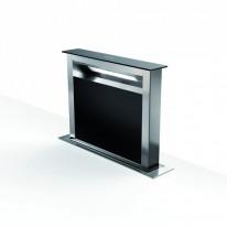 Faber FABULA PLUS EV8 BK A60  - odsavač výsuvný z pracovní desky, nerez / černé sklo, šířka 60cm