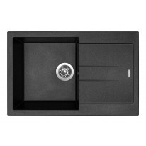 Sinks AMANDA 780 Metalblack