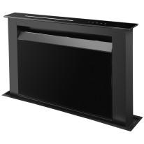 Ciarko Design CDB9001CC odsavač výsuvný z pracovní desky Moondraft Black, 4 roky záruka po registraci