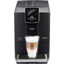 Nivona NICR 820 automatický kávovar, Černá přední strana s chromovanými doplňky