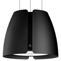 Ciarko Design CDW5001CM odsavač ostrůvkový miss w black mat, 4 roky záruka po registraci