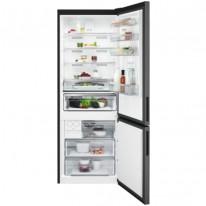 AEG Mastery RCB646E3MB volně stojící kombinovaná chladnička, NoFrost, Icematic, černý nerez, A++