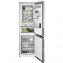 AEG Mastery RCB732D5MX volně stojící kombinovaná chladnička, NoFrost, CustomFlex, nerez, A+++