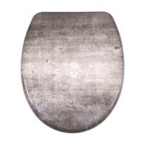 Schütte WC sedátko INDUSTRY GREY | Duroplast, Soft Close