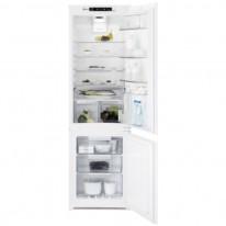 Electrolux ENT8TE18S vestavná kombinovaná chladnička, NoFrost, nízkoteplotní zásuvka