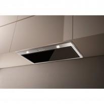 Faber INCA LUX GLASS EV8 X/BK KL A70  - vestavný odsavač, nerez / černé sklo, šířka 70cm