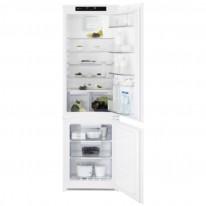 Electrolux LNT7TF18S vestavná kombinovaná chladnička, NoFrost