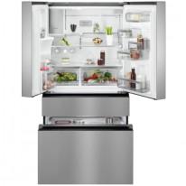 AEG RMB954F9VX kombinovaná chladnička francouzského typu, NoFrost, CustomFlex, výdejník vody, A+