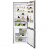 Electrolux LNT7ME46X2 volně stojící kombinovaná chladnička, NoFrost, šířka 70 cm, nerez