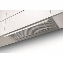 Faber IN-NOVA ZERO DRIP X/WH A90  - vestavný odsavač, nerez / bílé sklo, šířka 90cm