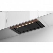 Faber BI-AIR KL A70  - vestavný odsavač, černé sklo / světle hnědé sklo, šířka 70cm