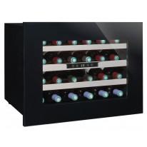 Avintage AVI24PREMIUM vestavná vinotéka jednozónová, 24 lahví, černá