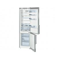 Bosch KGE39BI41 POUZE 34dB, 201 cm, chlad. 250l, mraz. 89l,(2 chladící okruhy), A+++, nerez