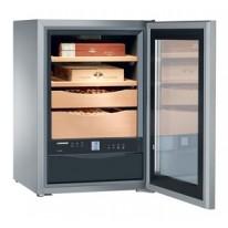 Liebherr ZKes 453 Humidor, objem 43 l, dřevěné rošty, prosklené dveře, nerezová