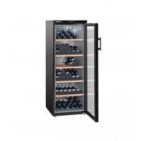 Liebherr WKb 4212 Vinothek, objem 427 l (200 ks), dřev. rošty, prosklené dveře, černá