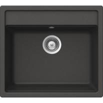 Schock Mono N-100 CRISTADUR Carbonium granitový dřez horní montáž